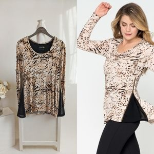 Lysse Cheetah Print Shape Wear Slimming Tunic